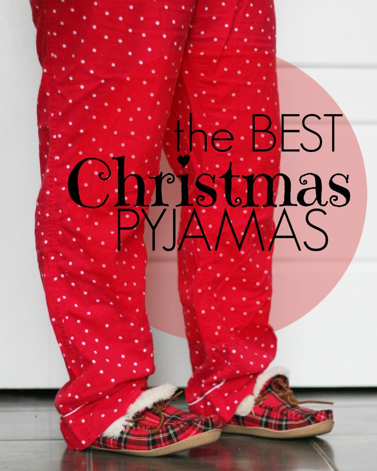 best Christmas pyjamas, holiday pjs
