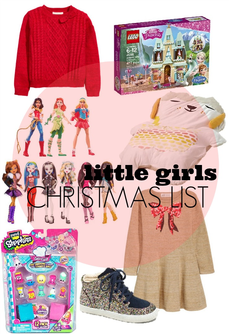little girls chistmas list