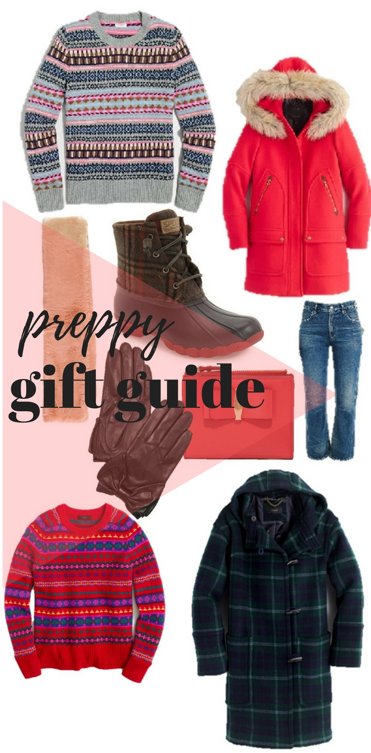 preppy gift guide
