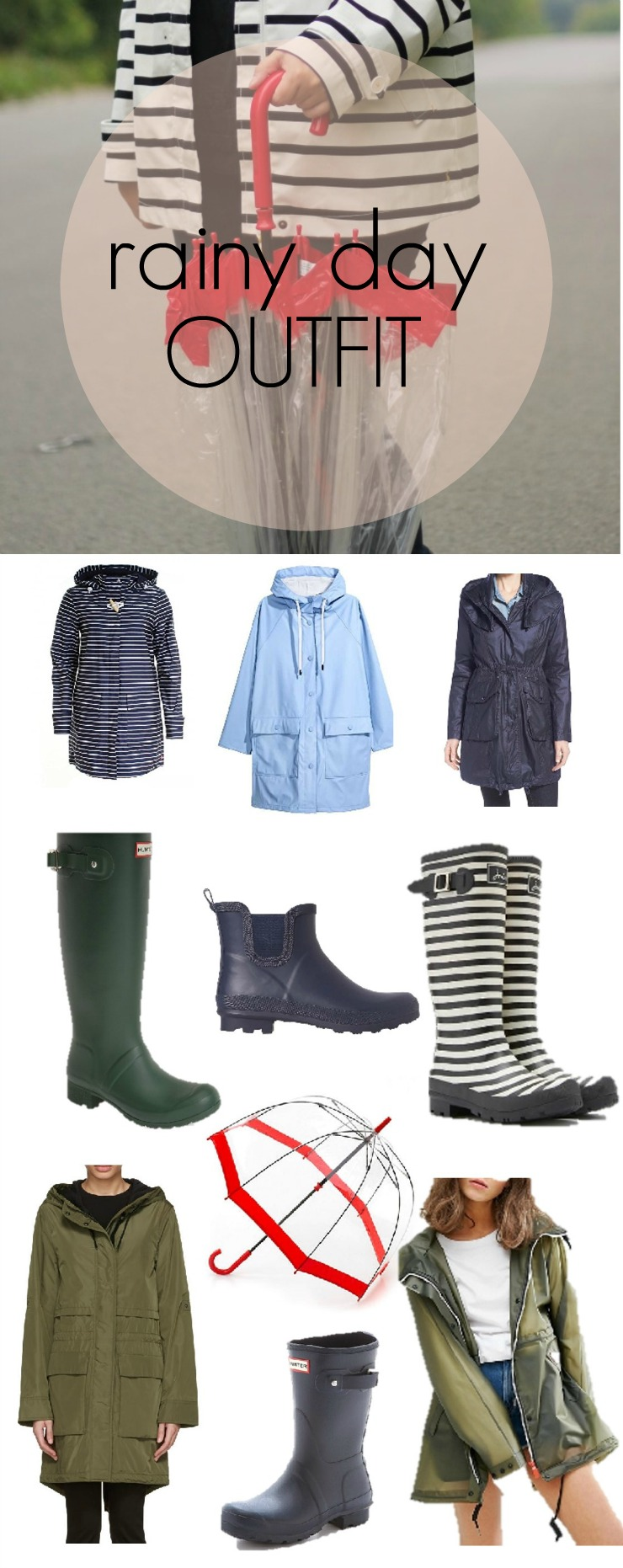 spring rain outfit