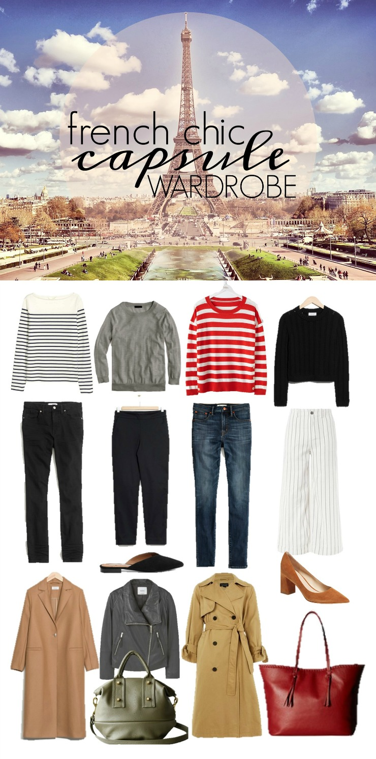 French Chic Capsule Wardrobe