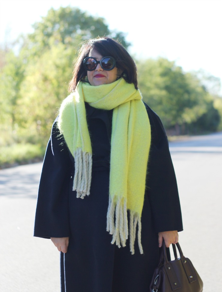 lime free people scarf