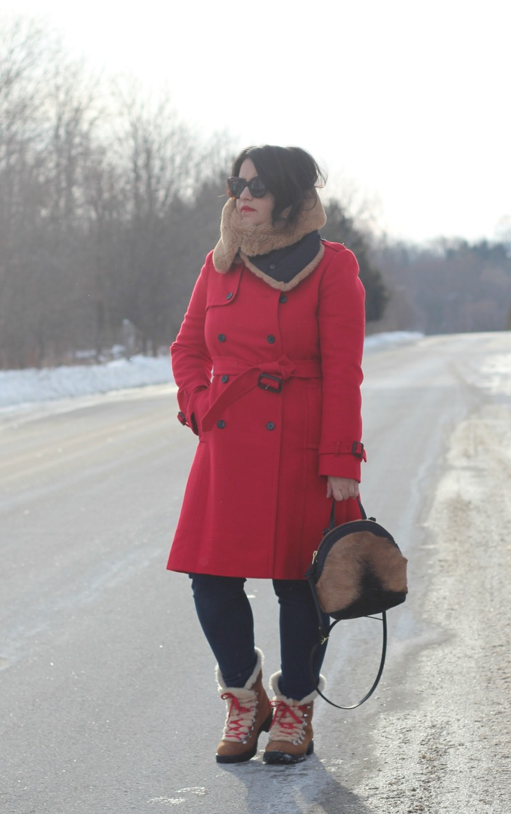 wearing red after christmas