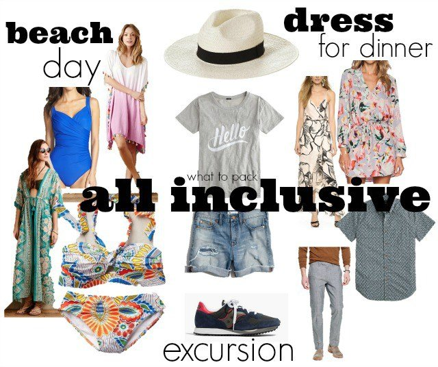 What To Pack For An All Inclusive Vacation ⋆ Chic Everywhere