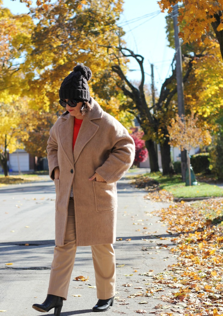 hm masculine wool coat