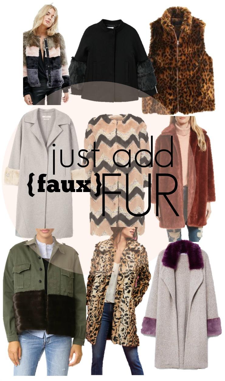 faux fur trend 2017