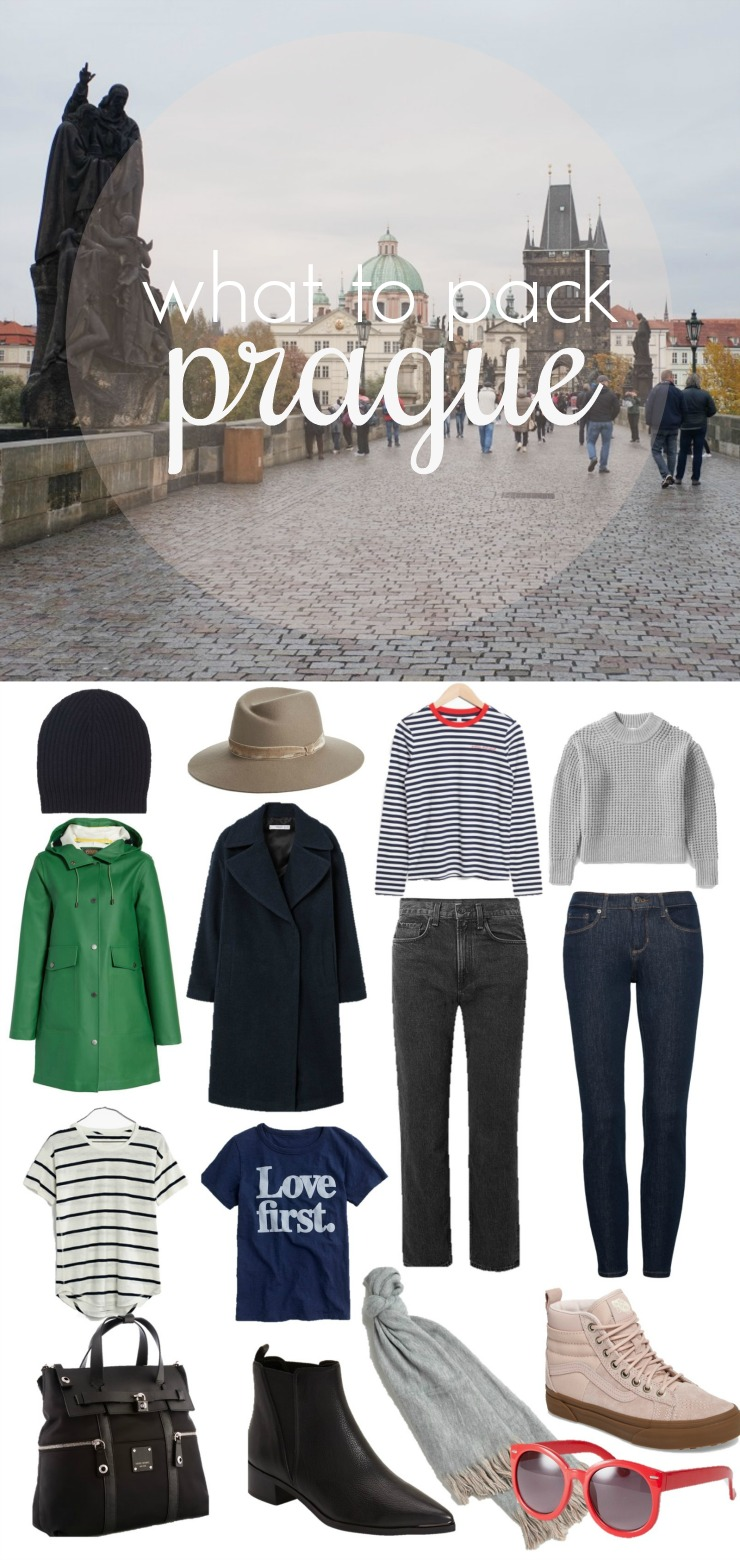 What to Pack for Prague, What to pack for Europe in Fall, European Vacation packing list