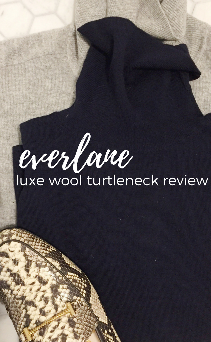 everlane luxe wool turtleneck review